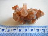 Aragoniet, Bruin kristallen, Marokko_