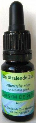 Balsem de Peru (hars) 10 cc etherische olie