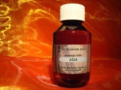 Asia 100 cc met de hand gemaakte natuurlijke massage olie