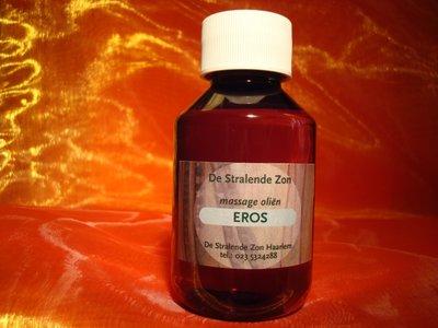 Eros 100 cc met de hand gemaakte natuurlijke massage olie