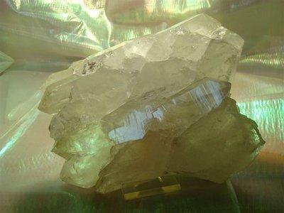 Bergkristal cluster met dubbeleinders Zwitserland