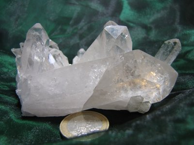 Bergkristal cluster Brazilie