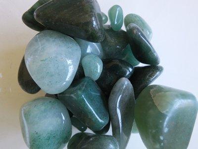 Trommelstenen Aventurijn Groen 50 gram