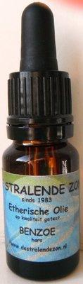 Benzoë (Styrax benzoin) 10 cc etherische olie