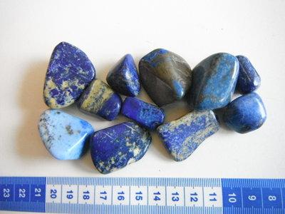 Trommelstenen Lapis Lazuli  Lot 165 gram