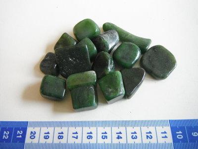 Trommelstenen Jade Groen 50 gram