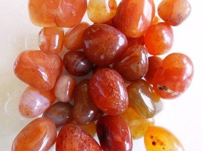 Trommelstenen Carneool 50 gram