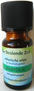 Babyolie  (mengsel) 10 cc etherische olie