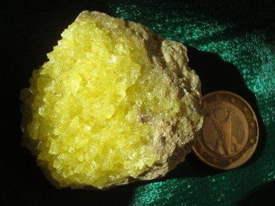Zwavel kristallen Bolivia