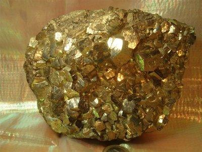 Pyriet kristallen Peru