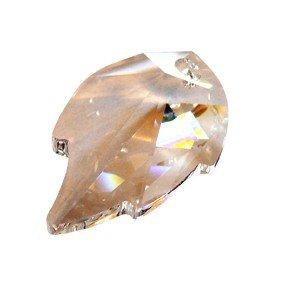 Regenboogkristal blad 22 x 40 mm