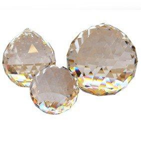 Regenboogkristal bol facet 45 mm