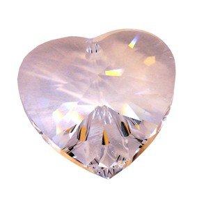 Regenboogkristal hart 5 mm als hangertje