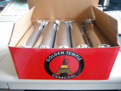 Kooltjes 33 mm, doos à rolletjes à 10 stuks (Golden Temple)